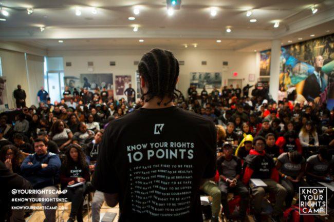 Kaepernick Your Rights Camp | Zinn Education Project