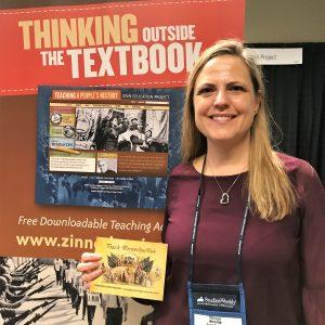 Anne Schmitt at 2018 NCSS | Zinn Education Project