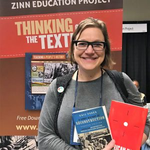 Rachel Toon at NCSS 2018 (Event Photo) | Zinn Education Project