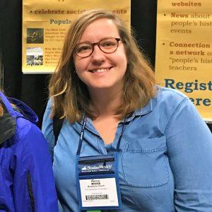 Madeleine Resch at NCSS 2018 | Zinn Education Project