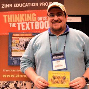 Mark McDonald at 2018 NCSS (Event Photo)   Zinn Education Project