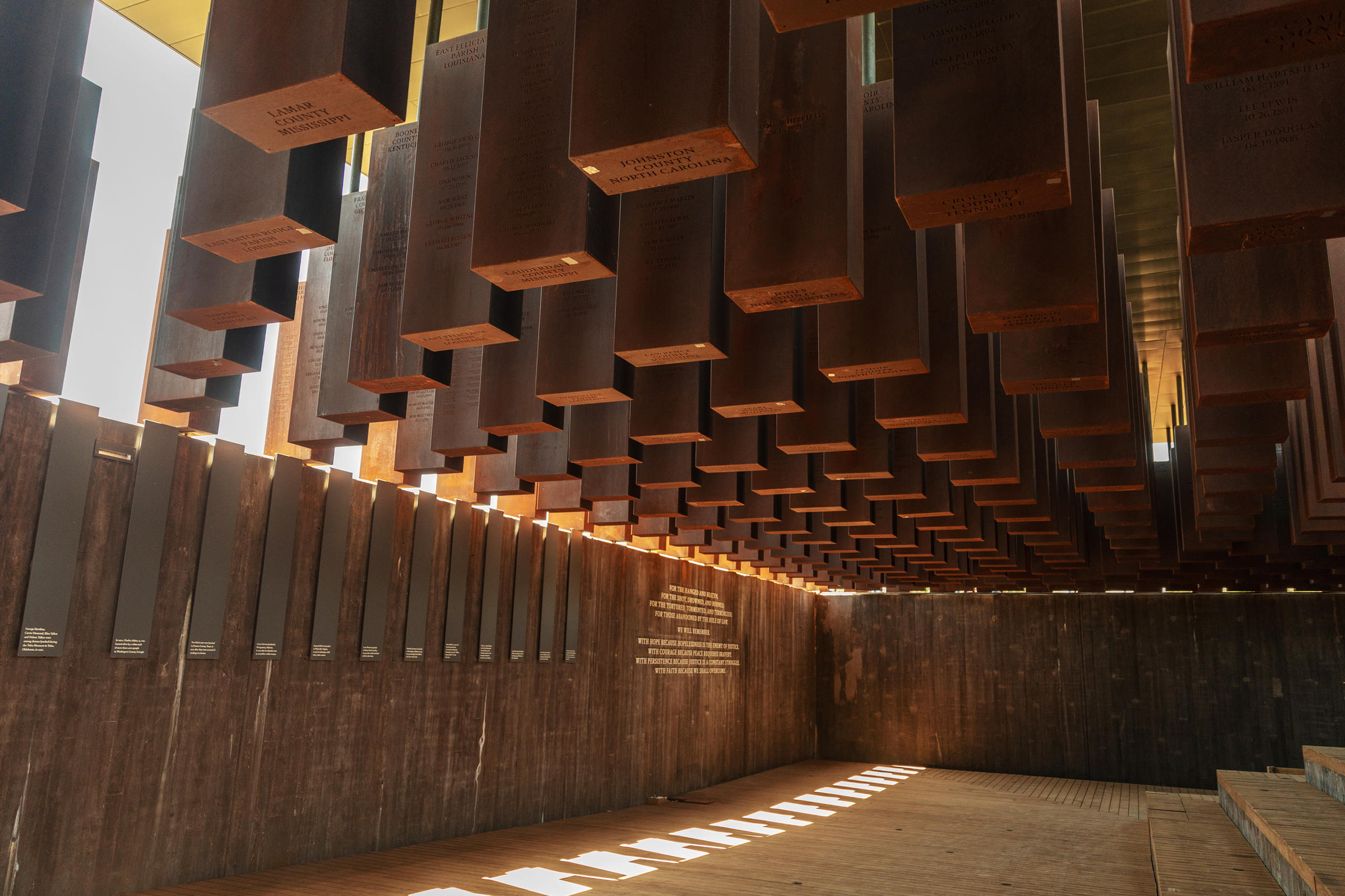 National Memorial for Peace and Justice (photo) | Zinn Education Project