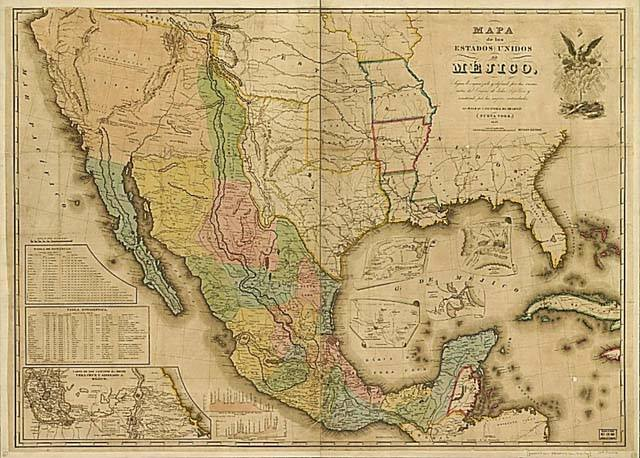 Map of Mexico | Zinn Education Project