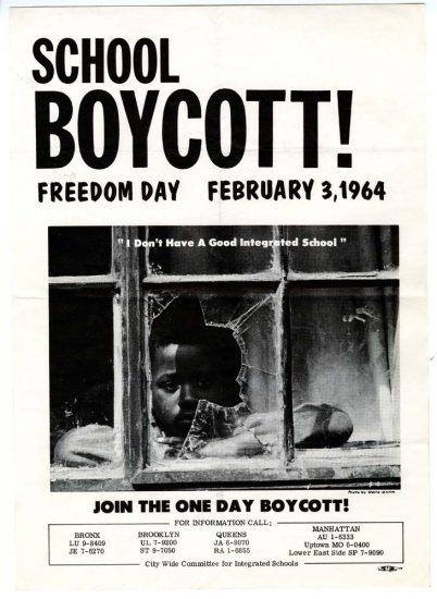 School Boycott! Flier