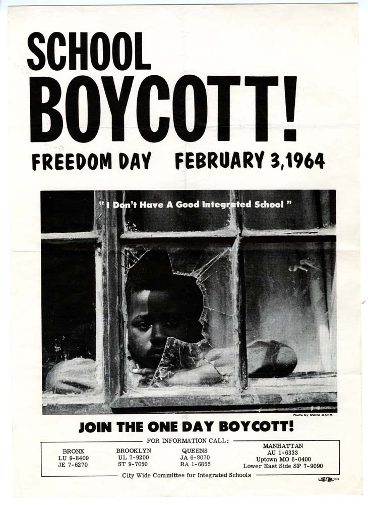 School Boycott Flyer 1964 | Zinn Education Project