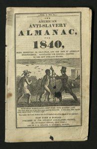 American Anti-Slavery Society Almanac 1840