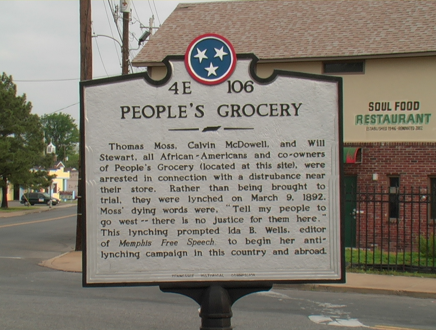 People's Grocery Marker (Photo) | Zinn Education Project