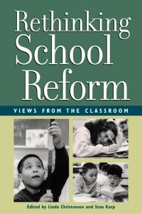 Rethinkg School Reform book cover