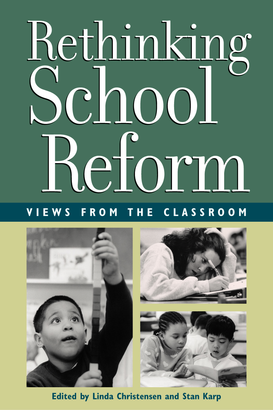 Rethinkg School Reform (Book Cover) | Zinn Education Project