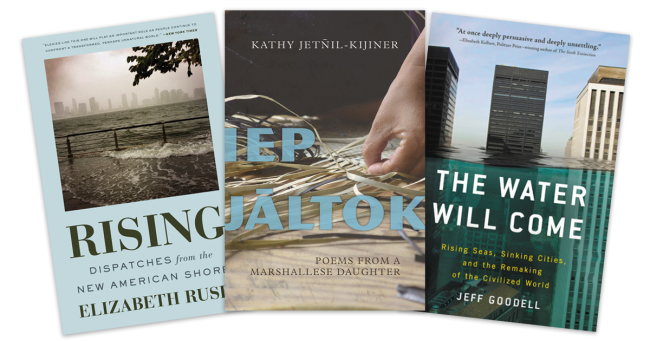 Three books you will receive when you share your teaching climate justice story.