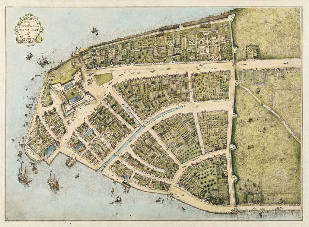 New Amsterdam Map | Zinn Education Project