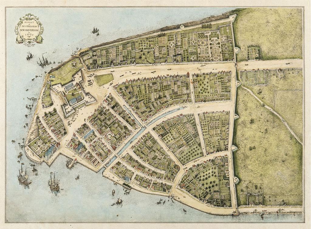 New Amsterdam Map | Zinn Education Project