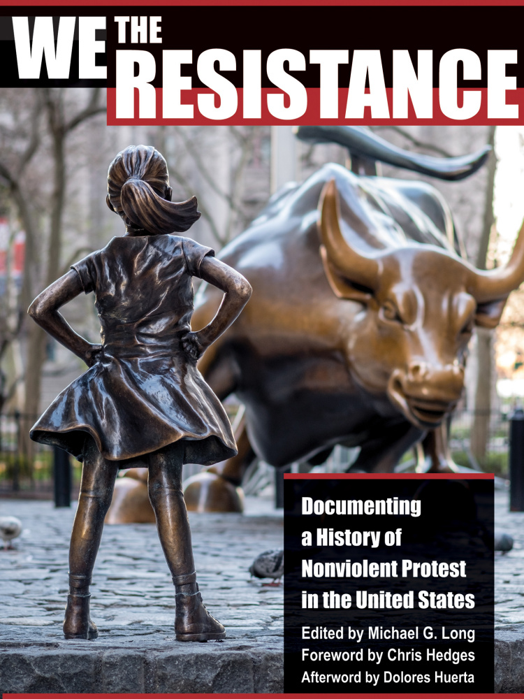 We the Resistance (Book cover) published by City Lights 2019