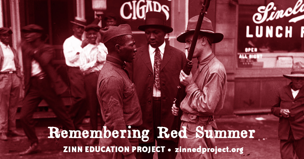 Remembering Red Summer (graphic) | Zinn Education Project