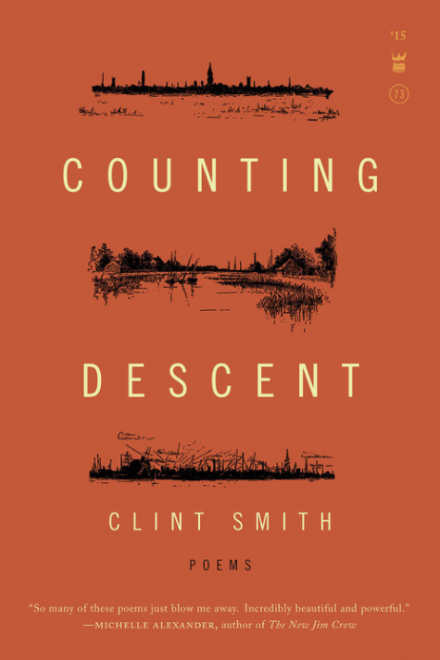 Book cover of Clint Smith's book of poetry, Counting Descent
