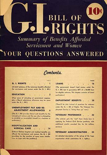 GI Bill of Rights | Zinn Education Project