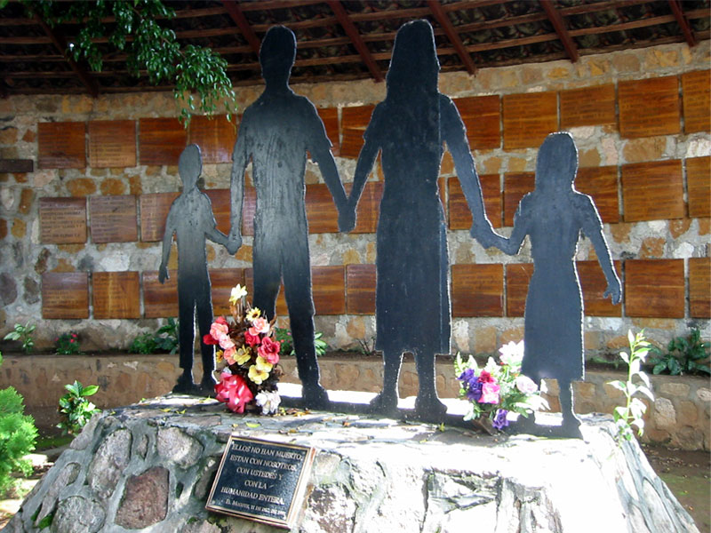 Memorial of massacre site at El Mozote, Morazan, El Salvador | The Zinn Education Project