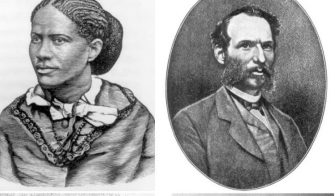Frances Harper, William Sylvis, Isaac Myers, and John Roy Lynch pictured. They were leaders of the Reconstruction Era in US history