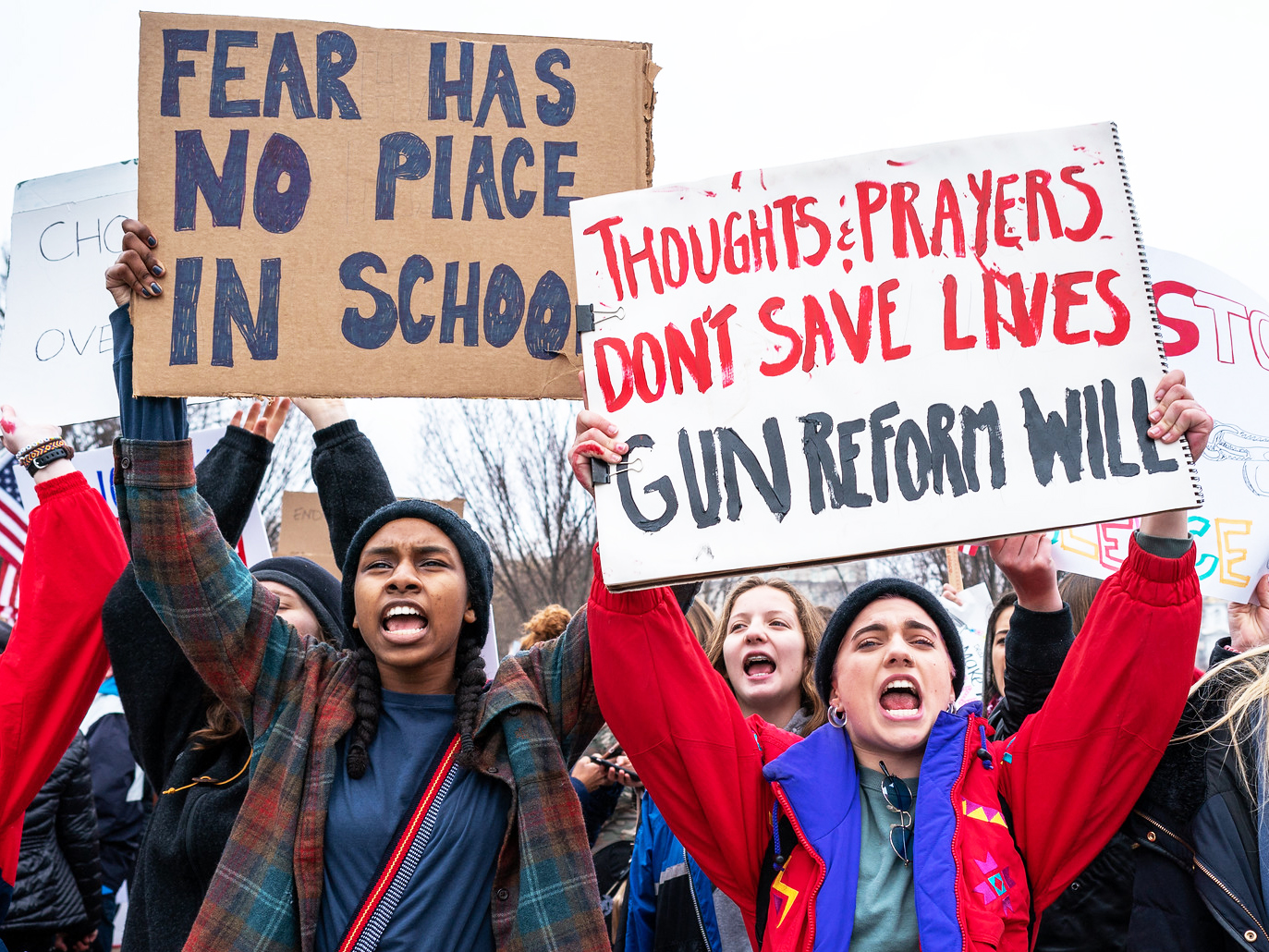 Source: Lorie Shaull; Student Gun Protest | Zinn Education Project