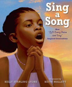 Sing a Song How Lift Every Voice and Sing Inspired Generations (book cover) | The Zinn Education Project