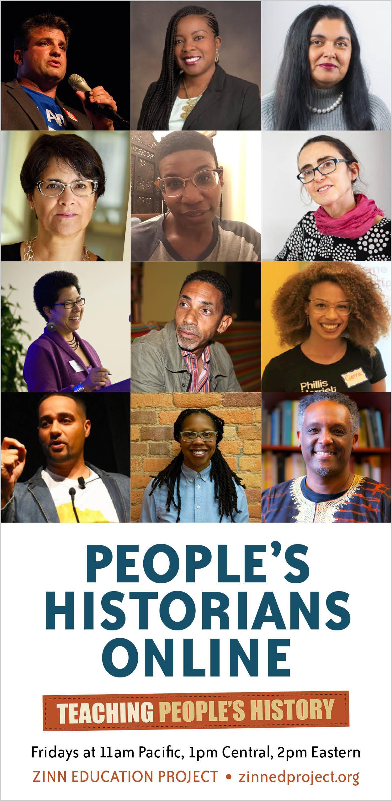 People Historians Online (vertical) | Zinn Education Project