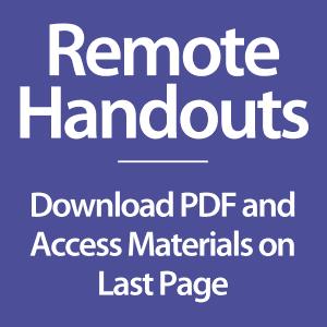remote handouts icon