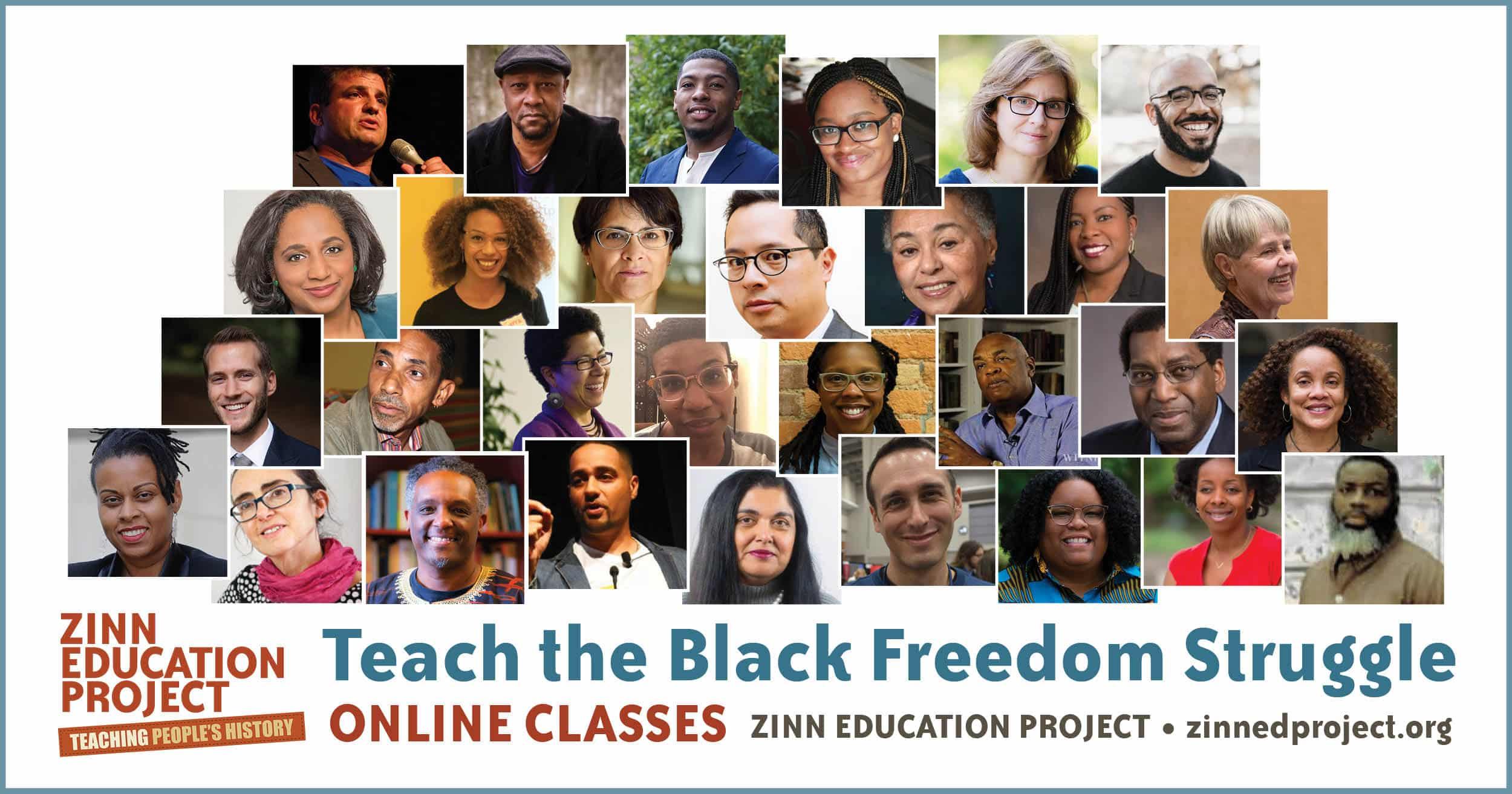 Teach the Black Freedom Struggle Online Classes