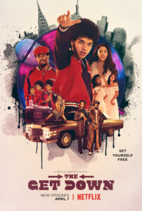 Poster for The Get Down on Netflix
